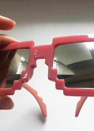 Очки зеркальные пиксельные