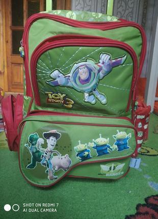Школьный рюкзак на колесах