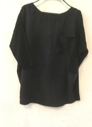 Джемпер, пуловер, блуза в стиле cos. шелк, вискоза.