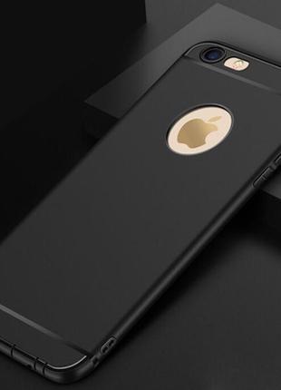 Чехол силиконовый видно логотип айфон 7+/8+