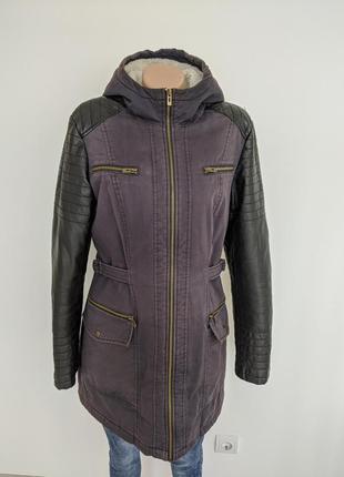 🔥🔥🔥длинная приталенная зимняя куртка ostin l2 фото