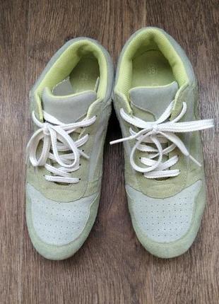 Замшевые кроссовки от closed