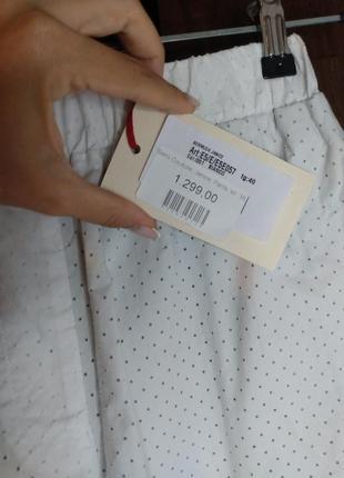 Оригинальные  бермуды ( шорты, длинные шорты) италия. erica cavallini/ перфорация.10 фото