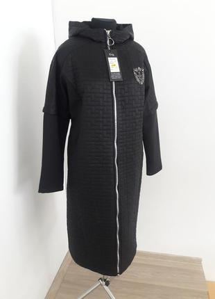 Стильне пальто міді демісезон /ціна закупки