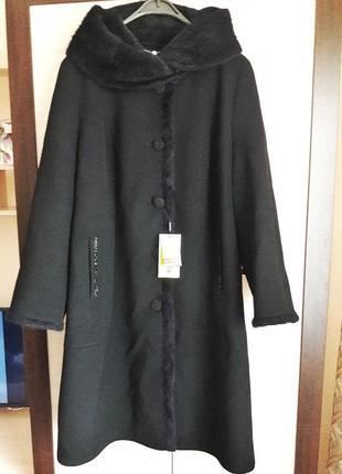 Пальто кашемір ангора/зима ціна закупки