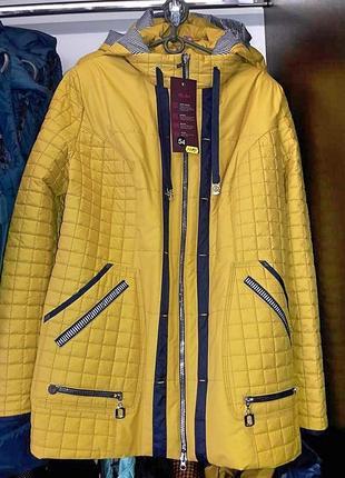 Лимонна куртка  демісезон ціна закупки