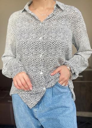 Шелковая рубашка, блузка max&co