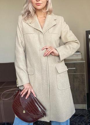 Шерстяное пальто max mara оригинал