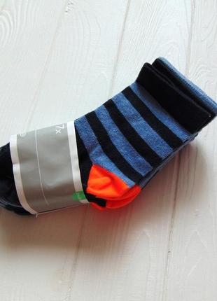 C&a. размеры 24-26 и 27-30. новый комплект из 7-и ярких носков для мальчика