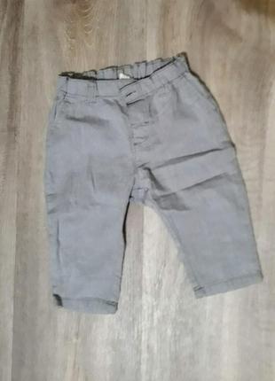 Легкие хлопковые штанишки h&m
