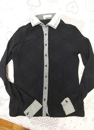 Классная чёрная рубашка 🖤👍