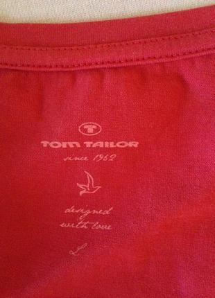 Удлиненная футболка стрейч tom tailor