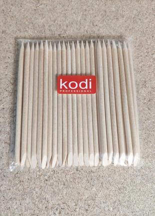 Апельсиновые палочки для маникюра 10 см. (50 шт) kodi