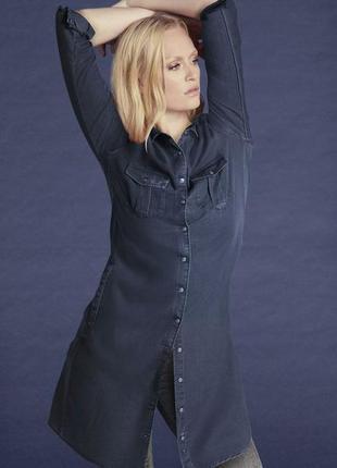 Платье-рубашка туника из лиоцеля esmara germany