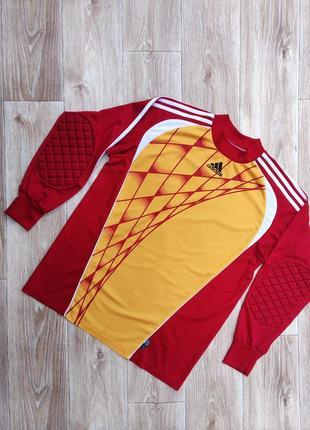 Ретро вратарский свитер кофта adidas винтаж адидас
