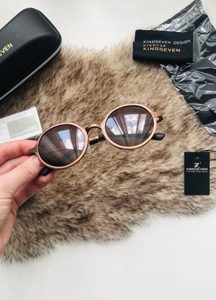 Очки kingseven солнцезащитные с поляризацией круглые/ солнечные очки круглые/ окуляри