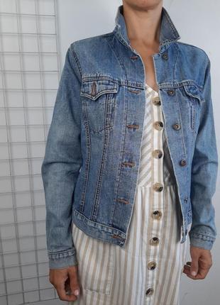 Джинсовка , женская джинсовая куртка dp denim