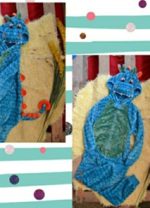 Слип кигуруми primark пижама дракоша діно