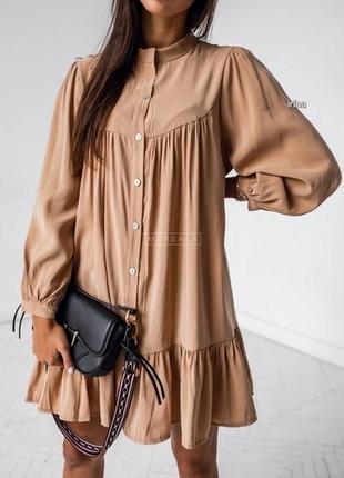 Стильное платье оверсайз