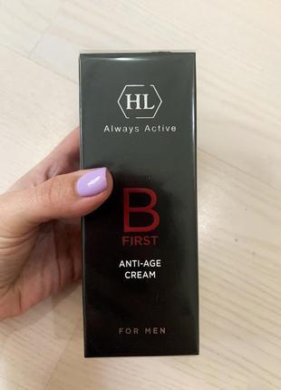 Крем для мужчин b first anti-age cream holy land