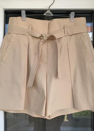 Sisley оригинал шикарные широкие шорты из хлопка