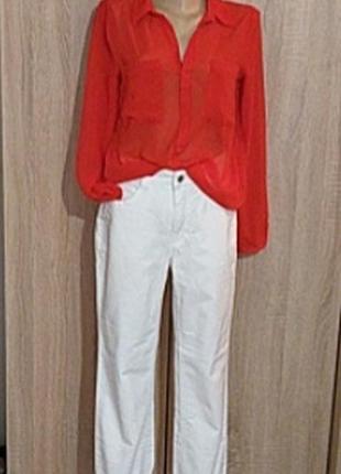 Блуза шифоновая la redoute
