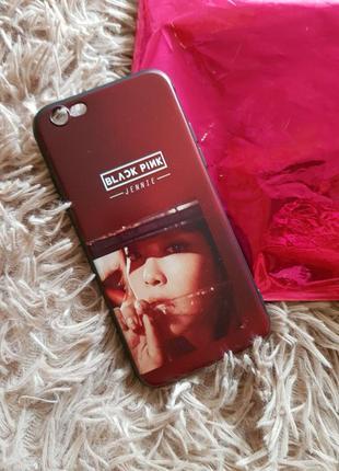 Чехол black  and pink для айфона iphone 6/6s