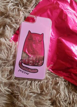 Чехол sinsay   аквариум cat для айфона iphone 6/6s