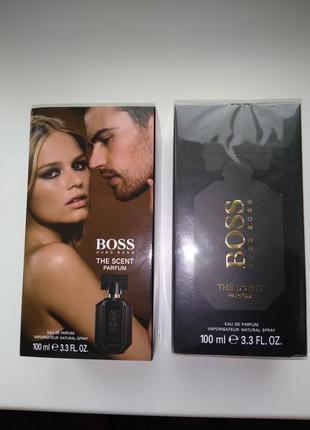 Женская парфюмированная вода hugo boss the scent parfum edition 100ml