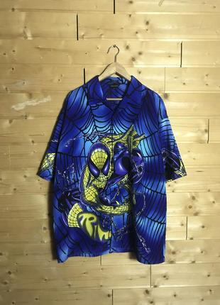 Vintage spider man рубашка