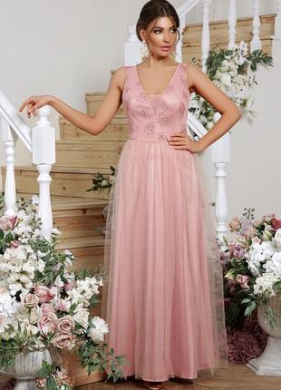 Роскошное вечернее платье * отличное качество
