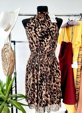 Нова крута сукня в леопардовий принт