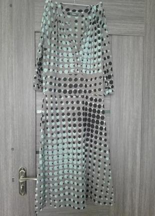 Платье в горошек mexx, рукав 3/4.