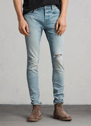 All saints index cigarette джинсы скинни skinny оригинал (w34 l34)