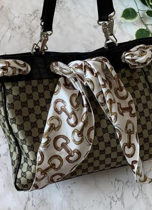 Топова сумка шопер cucci 🔥🔥🔥 made in italy