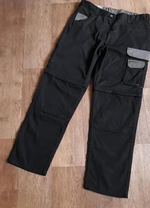 Женские рабочие брюки профессиональные штаны трансформеры спецодежда powerfix германия