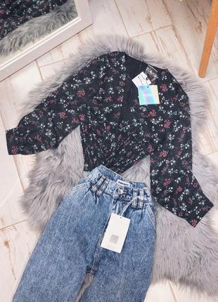 Блуза в цветочки missguided