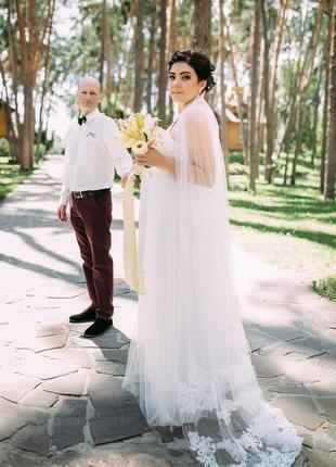 Свадебное платье шампань(невенчаеное)отдам в чехле+спрей для юбки