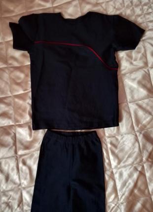 Костюм лосины трико для танцев гимнастики 116-122