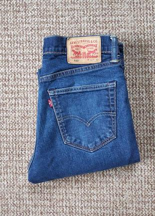 Levi's 510 джинсы skinny оригинал (w32 l32)