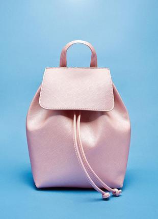Рюкзак bershka светло-розовый