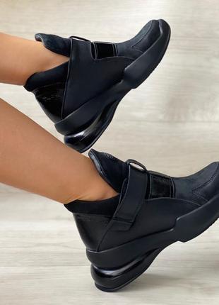 Новинка! крутые удобные ботинки из натуральной кожи
