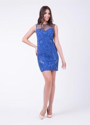 Шикарное вечернее платье 42-46 р.