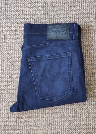Levi's 522 slim tapered джинсы оригинал (w32 l30)