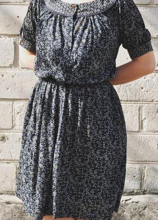 Трикотажное платье миди mango, s/xs