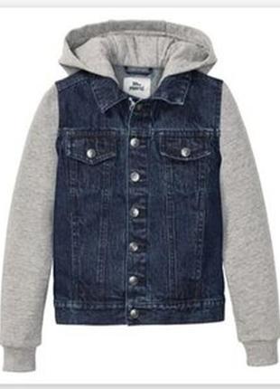 Джинсовая куртка на мальчика lupilu,pepperts.