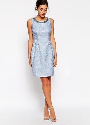 Платье с кружевным жаккардовым принтом coast
