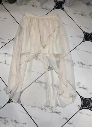 Ассиметричная юбка miss selfridge
