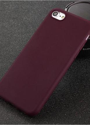 Чехол силиконовый для айфон