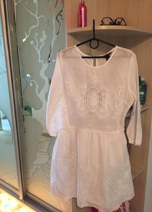Платье с вышивкой victoria's secret